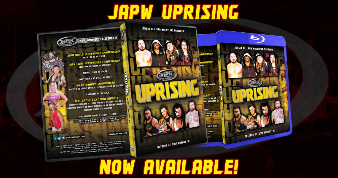 JAPW Uprising Now Available!