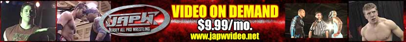 JAPW Video on Demand $9.99/mo
