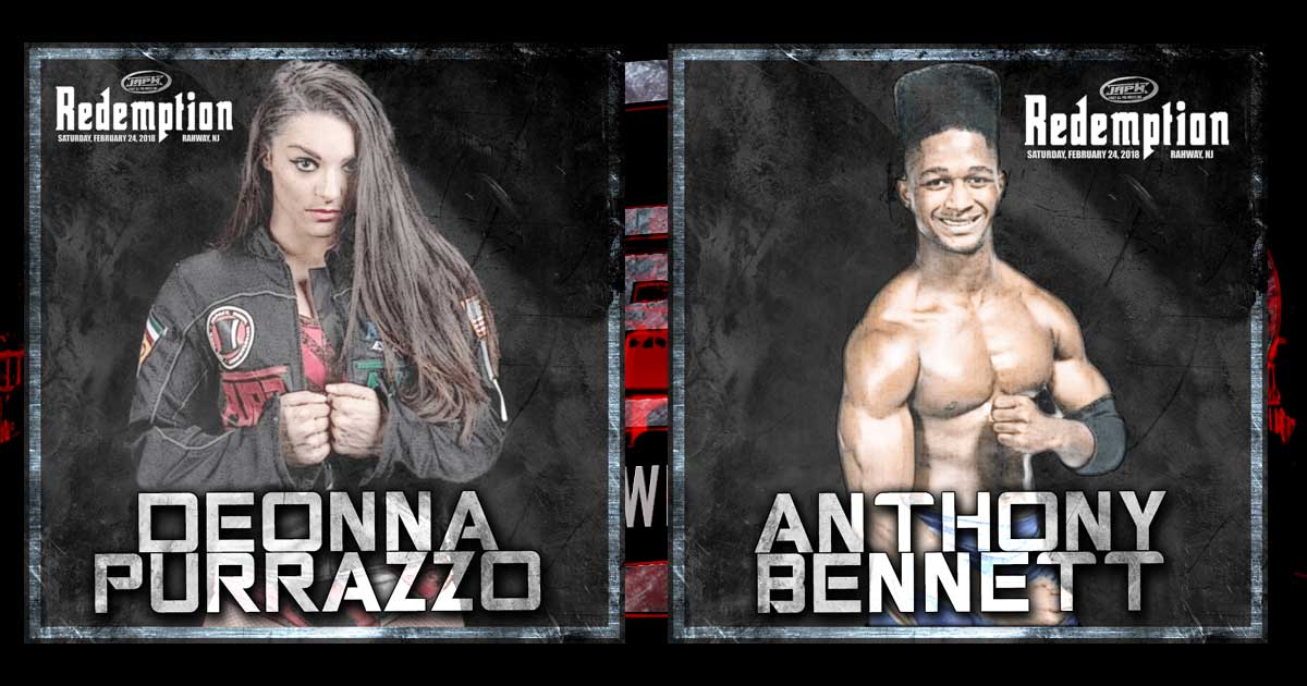Deonna Purrazzo & Anthony Bennett Signed for Redemption!