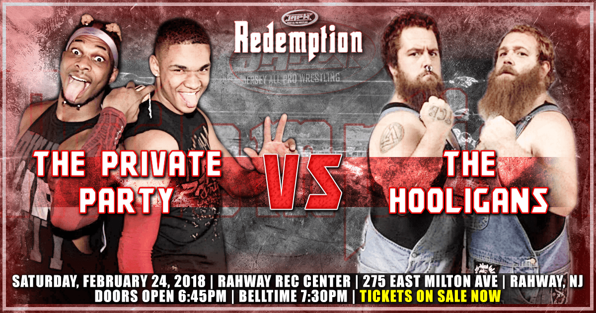 The Private Party vs The Hooligans on 2/24!