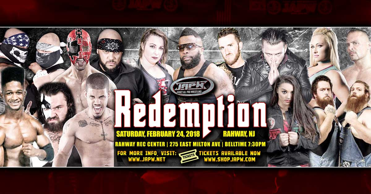 JAPW Redemption Ticket News