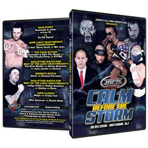 JAPW Calm Before the Storm DVD